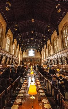 University of Oxford, Christ Church College(1546),Hogwarts - Oxford, England , from Iryna