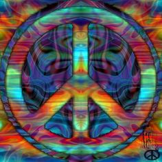 From Hippie Peace Freaks Hippie Peace, Happy Hippie, Hippie Love, Hippie Art, Hippie Chick, Peace Sign Art, Peace Signs, Hippie Wallpaper, Give Peace A Chance