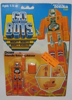 gobots dozer | MR-11