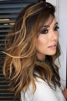 Balayage Hair Color Ideas for Short Hair – Stylish Hairstyles Brown Hair Balayage, Hair Color Balayage, Blonde Balayage, Hair Highlights, Caramel Balayage, Bayalage, Hair Color Caramel, Ombre Hair Color, Hair Colors