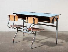 Double Dutch Desk and Chair Console Set