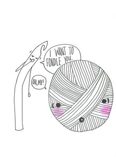 crochet yarn hooker humor