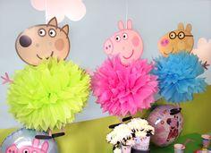 Peppa Pig Pom Poms