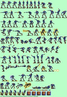 Zan Pixel Art, Mega Drive Games, 2d Game Art, Game Resources, Character Poses, Body Drawing, Game Dev, Action Poses, Video Game Characters