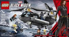 Get your first look at a LEGO set from the upcoming Marvel movie Black Widow! Black Widow Film, Film Black, Movie Black, Black Widow Marvel, Marvel Avengers, Lego Marvel Super Heroes, Marvel Fan, Upcoming Marvel Movies, Films Marvel