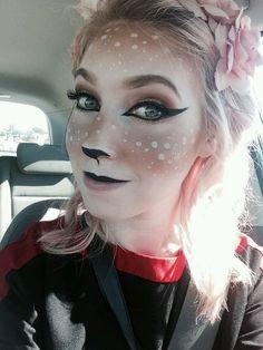 deer makeup halloween