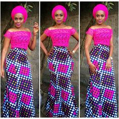 Simply gorgeous @laviemakeup in an african chiq dress by us. Call us at +255719421235