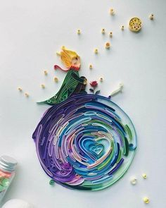 Never stop dreaming | quilling