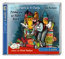 Ein Feuerwerk für den Fuchs/ Findus und der Hahn im Korb (CD). Ab 4 Jahren.
