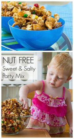 Nut-Free Sweet & Salty Party Mix -- Dollar Store Recipe
