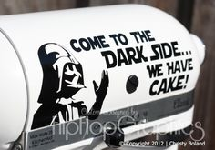 Star Wars Graphic for Kitchenaid Mixer, my chemistry profesor would always say this...