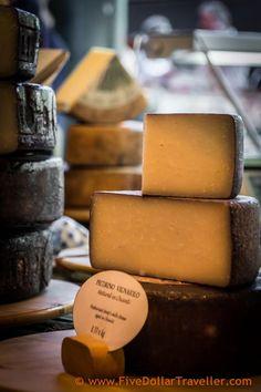 Borough Markets - Cheese matured in Wine (Drunk Cheese)