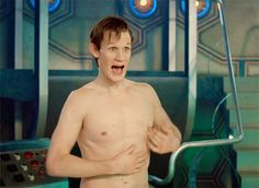 Matt Smith .gif, from tempus-aeterna.tumblr.com. You're welcome. :)