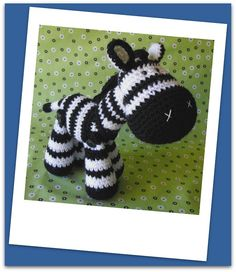 Zeb - amigurumi crochet pdf pattern. $4.99, via Etsy.
