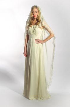 ¿Qué tal un toque vintage a vuestro vestido?