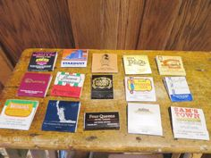 Las Vegas Casino Hotel Matchbooks Lot of 15 Some Closed Casinos Some Open