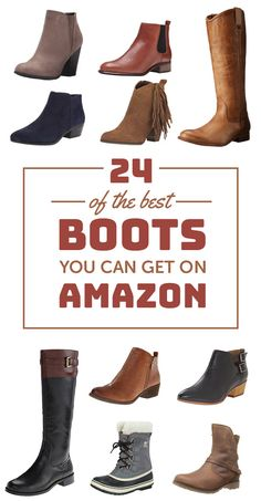 21 Winter Tips To Trick People Into Thinking You're Stylish Stylish Boots, Comfortable Boots, Fall Fashion Outfits, Autumn Fashion, Cute Shoes, Me Too Shoes, Best Amazon Products, Fall Shoes, Cool Boots