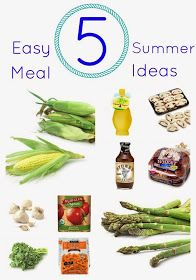 The Chirping Moms: Favorite Simple Summer Meals