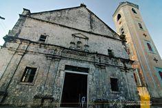 Ancient church of Poro Island, Cebu