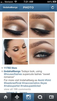 Makeup on Pinterest Wedding makeup, Smokey Eye and Eye ...