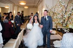 Vancouver Rosewood Hotel Georgia wedding ceremony, modern, luxury and classic downtown venue
