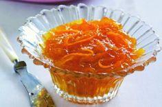 Pomerančová marmeláda | Apetitonline.cz Kimchi, Food To Make, Smoothie, Muffin, Pudding, Fish, Homemade, Meat, Breakfast