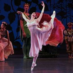 "Maria Kowroski and the New York City Ballet in George Balanchine's ""A Midsummer Night's Dream"" at the David H. Koch Theater (2015)"