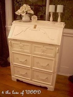 painted furniture with added features