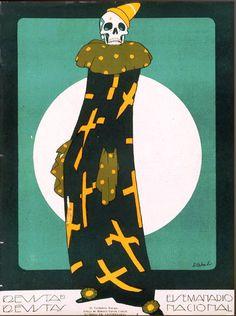 «Verdadero payaso» 1925. Cortesía del Taller Ernesto García Cabral A.C.