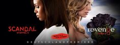 """#Deutschlandpremiere Die Rache ist mein: Die neuen Staffeln von """" #Scandal"""" und """" #Revenge"""" sind da! """"Revenge – Staffel 3"""" und """"Scandal – Staffel 3"""", jetzt bei Prime Instant Video: http://amzn.to/1vwnFbl"""