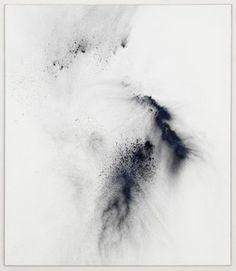 """THILO HEINZMANN """"O."""" 2013 Oil and pigment on canvas, plexiglas cover / Huile et pigment sur toile, caisson plexiglas 60 x 52 x 3 inches / 153 x 133 x 9 cm Arte Yin Yang, Art Blanc, Modern Art, Contemporary Art, Guache, Inspiration Art, Foto Art, Art Abstrait, White Art"""