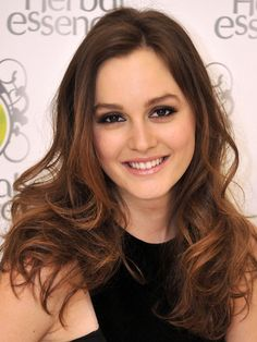 Leighton Meester's top 10 hair and makeup looks: Herbal Essences event, 2010 http://beautyeditor.ca/2013/10/16/leighton-meester-hair-and-makeup/