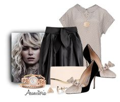 Sin título #1395 by asunvitoria on Polyvore featuring polyvore, fashion, style, Armani Collezioni, Manolo Blahnik, Dorothy Perkins, FOSSIL, EF Collection, Leslie Danzis and clothing