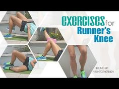 How to prevent knee pain when cycling {runner's knee exercises} - RunToTheFinish