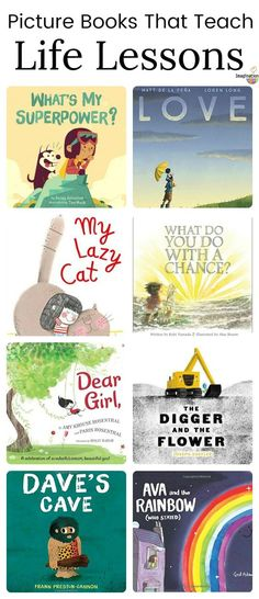 picture books that teach kids valuable life lessons #kids #childrensbooks