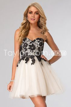 2015 A-Line Sweetheart Sleeveless Empire Zipper Homecoming Dresses