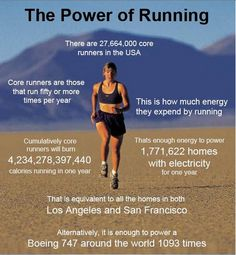 Power of running