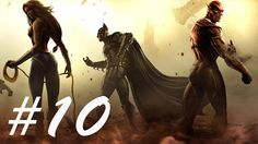 Injustice Gods Among Us Gameplay Parte 10