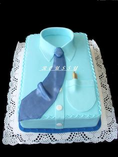 Torta modelo CAMISA — Father's Day