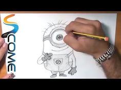 Come imparare a disegnare i Minions di Gru (Cattivissimo me) - YouTube