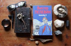 "Victor Pelevin. ""Generation П""/""Babylon"". Bookcover and Illustrations. Sasha Berg. on Behance"