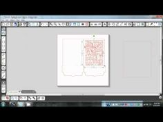 Changing Silhouette Vinyl Phrases into Print and Cuts - YouTube