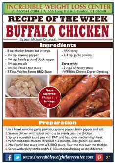 BUFFALO CHICKEN - PHASE 1 ALLOWED