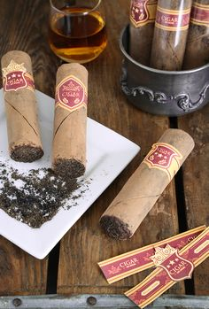 Smoky Chocolate Cigars | Sprinkle Bakes