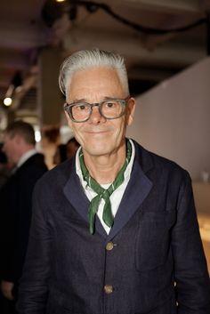 #ManAboutTown Gordon Richardson (Topman Design Director) at London Collections: Men