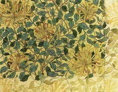 Honeysuckle - William Morris