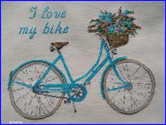 Radosne Inspiracje: I LOVE MY BIKE -W ŚRODKU LATA