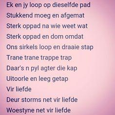 Net vir liefde.... -Karen Zoid Afrikaans, Wall Collage, Qoutes, Van, Facts, Songs, Quotations, Quotes, Vans
