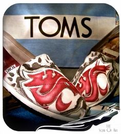 """""""Customize Your Toms, Your Way @ The Scent Of Art!""""    www.store.scent-of-art.com  Custom Painted By : Alicia Dawn Miranda"""