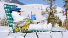 How to build a snowman: Mr. Sunny Snowbird #Hallmark #HallmarkIdeas